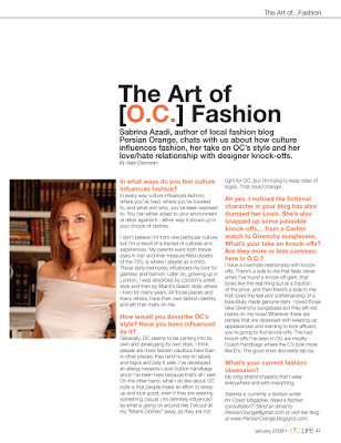 OC Life Magazine Features Moi