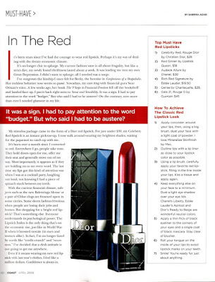 In The Red – Must Have Red Lipsticks